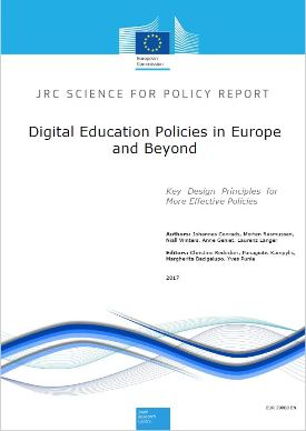 Digital Education Policies in Europe and Beyond: Key Design Principles for More Effective Policies