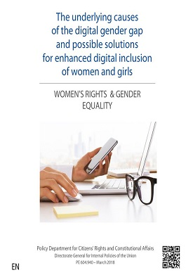 The underlying causes of the digital gender gap and possible solutions for enhanced digital inclusion of women and girls