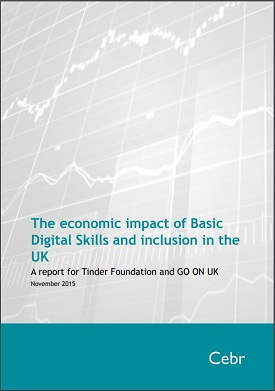 The economic impact of Basic Digital Skills and inclusion in the UK: A report for Tinder Foundation and GO ON UK