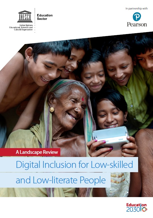 Digital inclusion for low-skilled and low-literate people: a landscape review