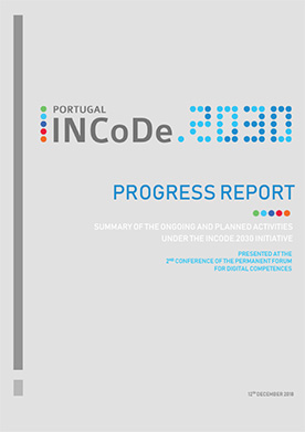 PROGRESS REPORT - SUMMARY OF THE ONGOING AND PLANNED ACTIVITIES UNDER THE INCODE.2030 INITIATIVE