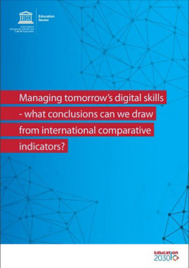Managing tomorrow's digital skills - what conclusions can we draw from international comparative indicators?