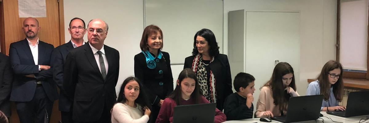 Minister visits Creative Community for Digital Inclusion in Barcelos
