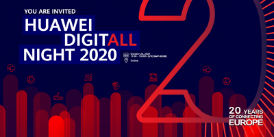 Huawei Digitall Night 2020: Evento especial para estudantes